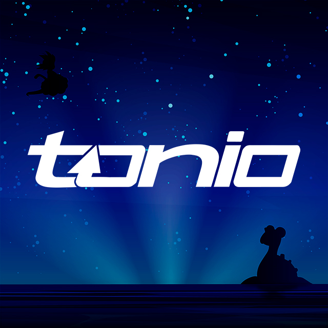 Imagen con el logotipo de tonio