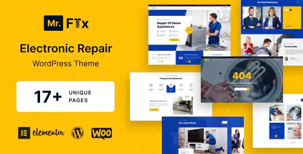 Best Appliances Repair Services WordPress Theme