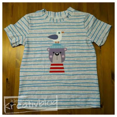 www.kleiner-kreativblog.de Kinder-T-Shirt