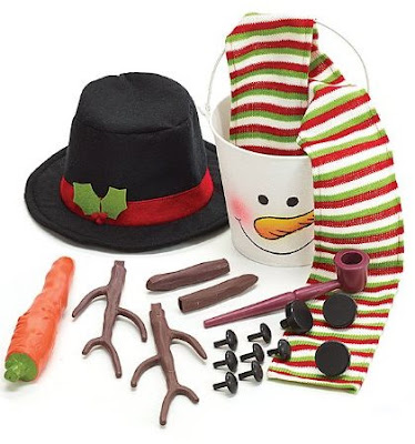 Frosty the Snowman Snowman Building Kit