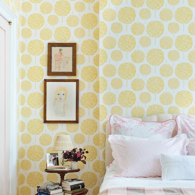 Wallpaper Dinding Kamar Tidur Mewah Terbaru