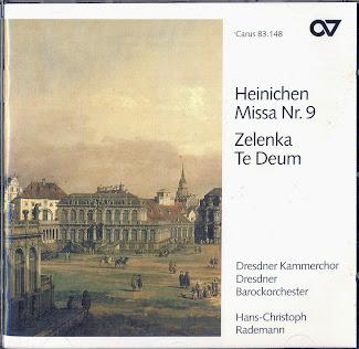 J. Zelenka: Te Deum, J. Heinichen: Missa No. 9