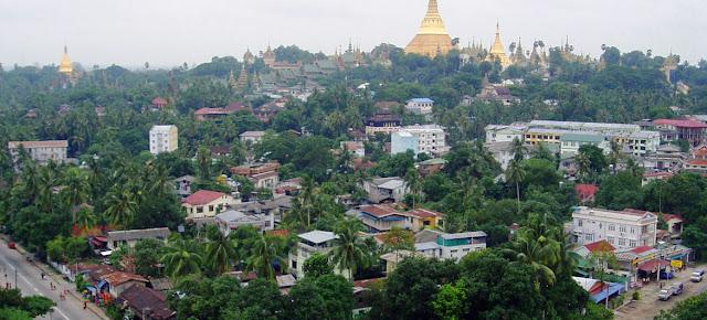 Vista de Yangon, MyanmarONU/Nyi Teza