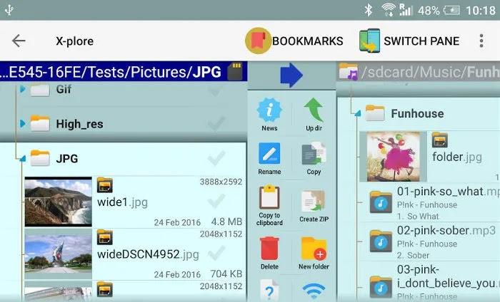 أفضل تطبيقات Android Tv Apps X Plore File Manager