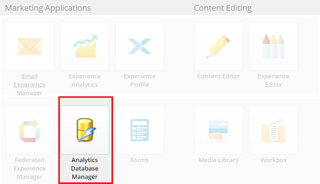 Sitecore Analytics Database Manager (ADM) Module Customization