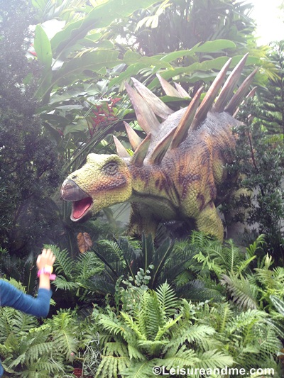 Dinosaurs at the Zoo-rassic Park Singapore