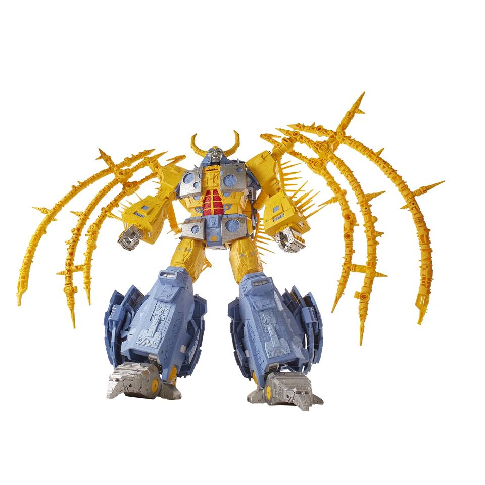 Haslab reveals: Transformers Unicron (And everyone screams!)
