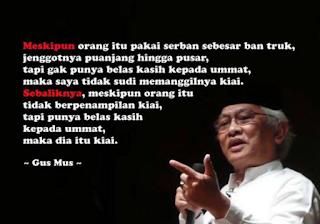 Puisi Islam Karya Gus Mus