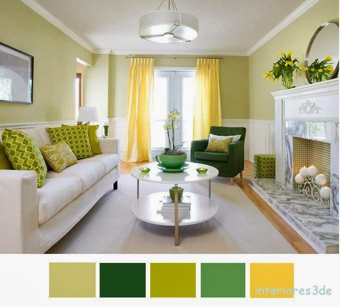 vivir con el color verde y amarillo