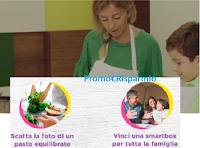 Logo Nestlè for Healtier Kids: vinci gratis 10 cofanetti Smartbox per un pasto con tutta la famiglia