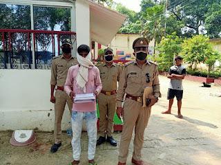 अवैध तमंचा के साथ अपराधी गिरफ्तार  #NayaSaveraNetwork