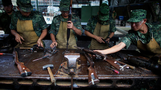 Cada año ingresan 200.000 armas a México desde EE.UU., según Cancillería mexicana