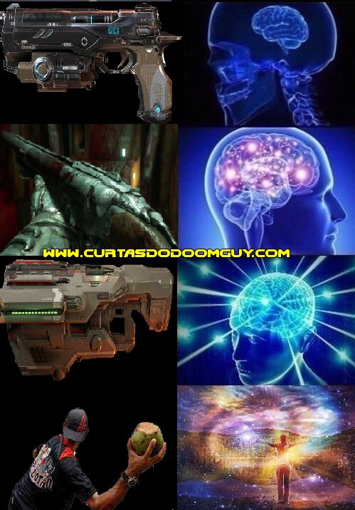 A expansão do cérebro e o armamento