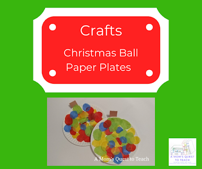 Crafts - finished tissue paper Christmas paper plate ball