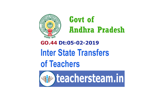 Inter-state transfer of teachers from the State of Andhra Pradesh to the State of Telangana