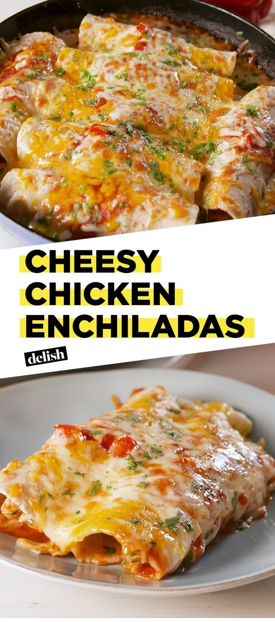 Best-Ever Cheesy Chicken Enchiladas