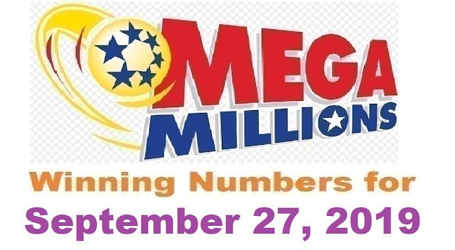 Mega Millions Winning Numbers for Friday, September 27, 2019