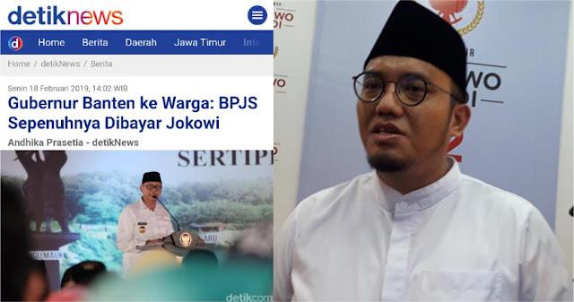 BPN: Sejak Kapan BPJS Sepenuhnya Dibayar Jokowi?