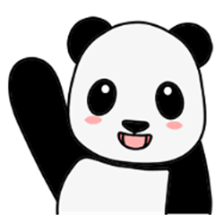 Happy Panda Animated