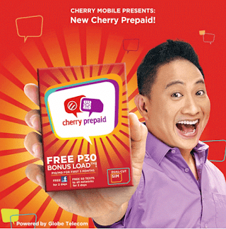 Cherry Prepaid SIM Card From Cherry Mobile For Only 29 Pesos