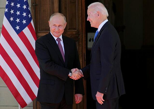 بث مباشر... لقاء بوتين وبايدن