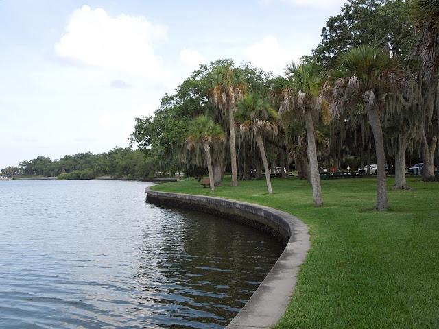 Philippe Park shoreline