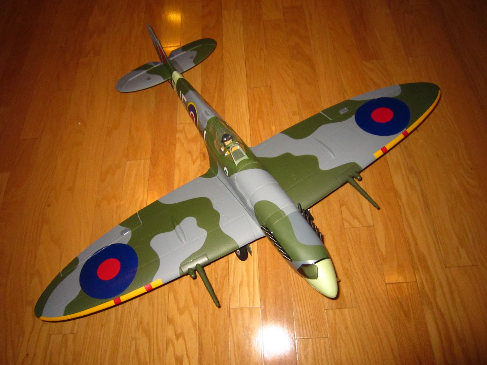 Z8rc Parkzone Spitfire Mk Ix Flight Review