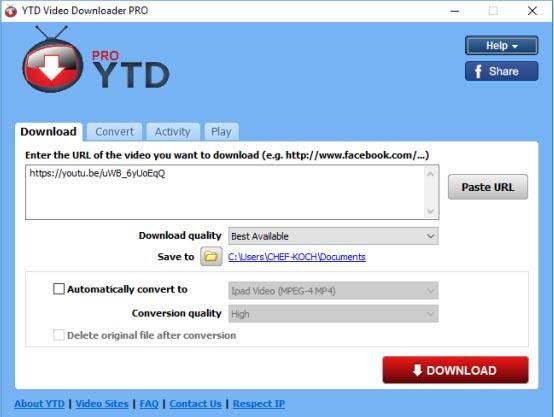 Free Download YTD Video Downloader Mac Full Crack Terbaru