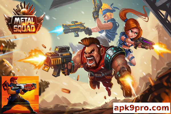 Metal Squad v2.0.8 b351 Original Apk + Mod (File size 117 MB) for android