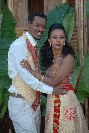 Ethiopian Culture : Beautiful outfits for groom and brides