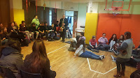 Η Γ΄ Γυμνασίου επισκέπτεται τον Σύλλογο ατόμων με σύνδρομο Down