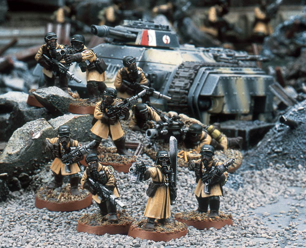 Codex Astra Militarum Preview: Armageddon.... Steel Legion ...
