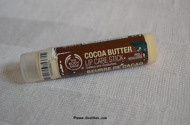 The Body Shop Cocoa Butter Lip Care Stick Review