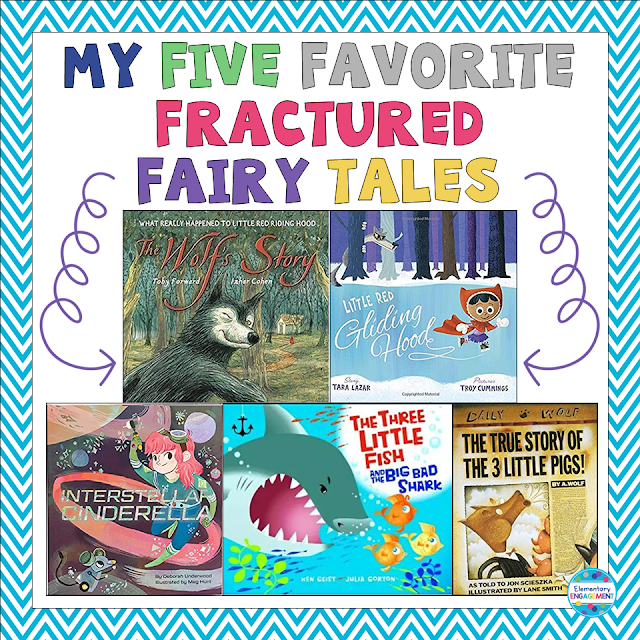 Five Awesome fractured fairy tales and how to use them in your classroom