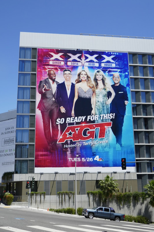 Giant Americas Got Talent season 15 billboard