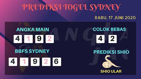 Bocoran Sydney Rabu 17 Juni 2020 - Bocoran Angka