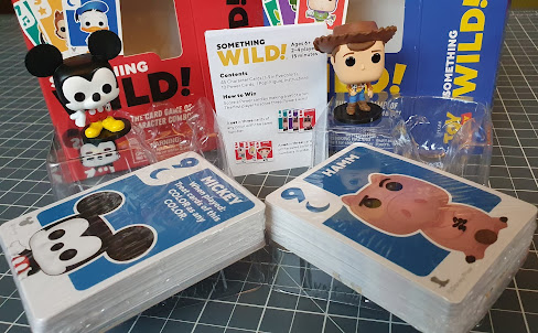Disney Funko Something Wild! Card Games pack contents