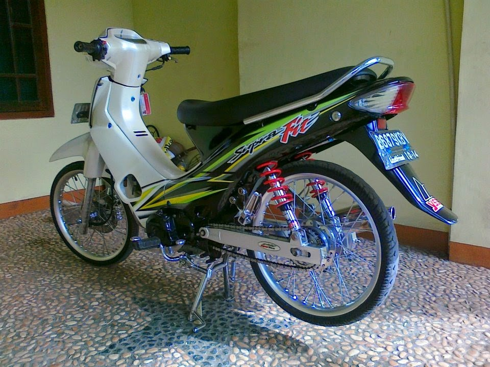 modifikasi motor supra fit 2005 tahun ini