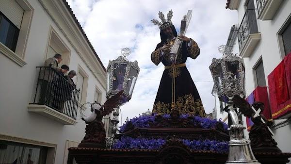 El Nazareno de Espejo llevará sones de Caído y Fuensanta en la Magna de Córdoba