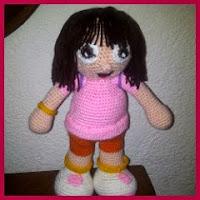 Dora amigurumi