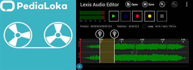 Aplikasi Lexis Audio Editor