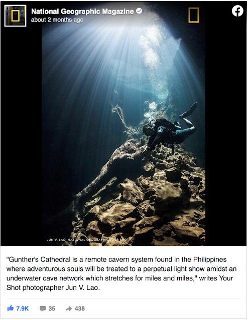 Palawan on National Geographic ny PhotographerJun V Lao
