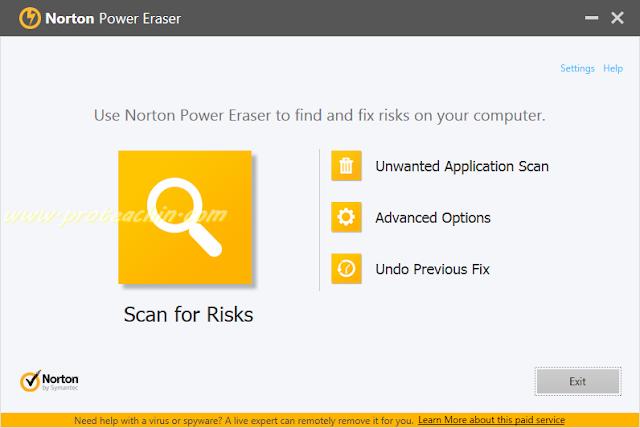 حذف الفايروسات وتسريع الكمبيوتر عبر برنامج Norton Power Eraser