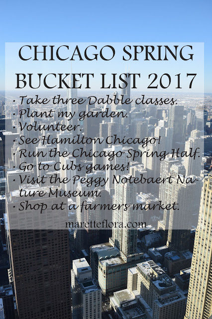 Chicago Spring Bucket List