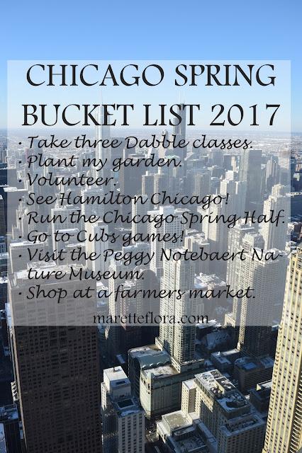Chicago Spring Bucket List