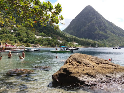 sugar beach santa lucia