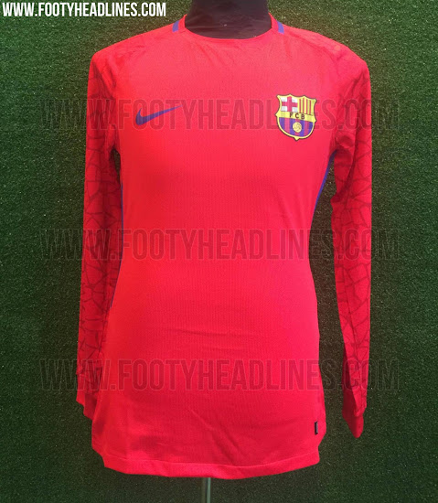Camiseta portero FC Barcelona 17 18