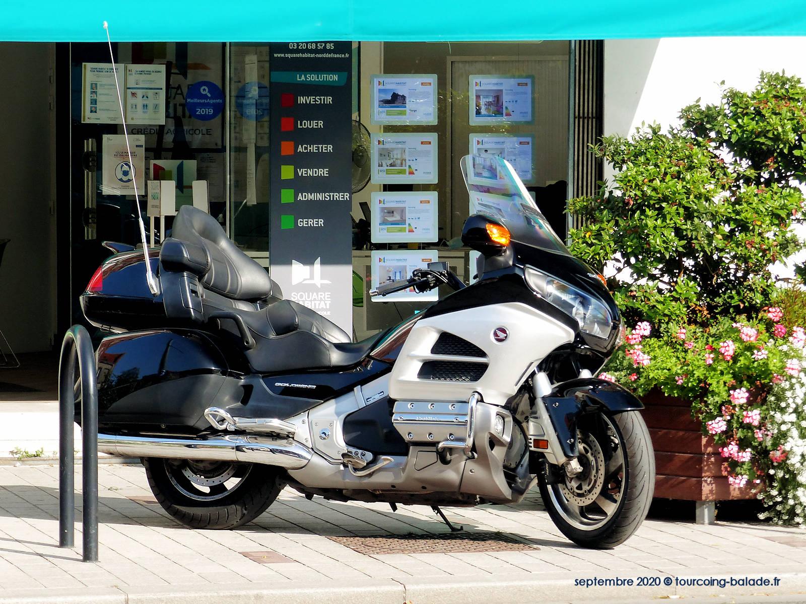 Moto Honda Goldwing 1800 - Tourcoing 2020