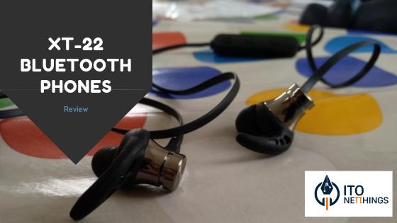 XT-22 Phones bluetooth com MP3 Player Review