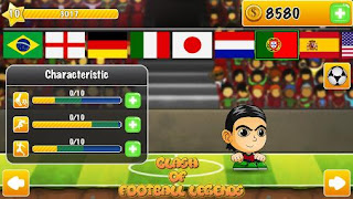Download Game Clash of Football Legends 2017 V1.0 MOD Apk ( Unlocked )